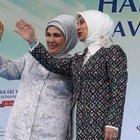 Sare Davutoğlu'ndan Emine Erdoğan'a tebrik telefonu
