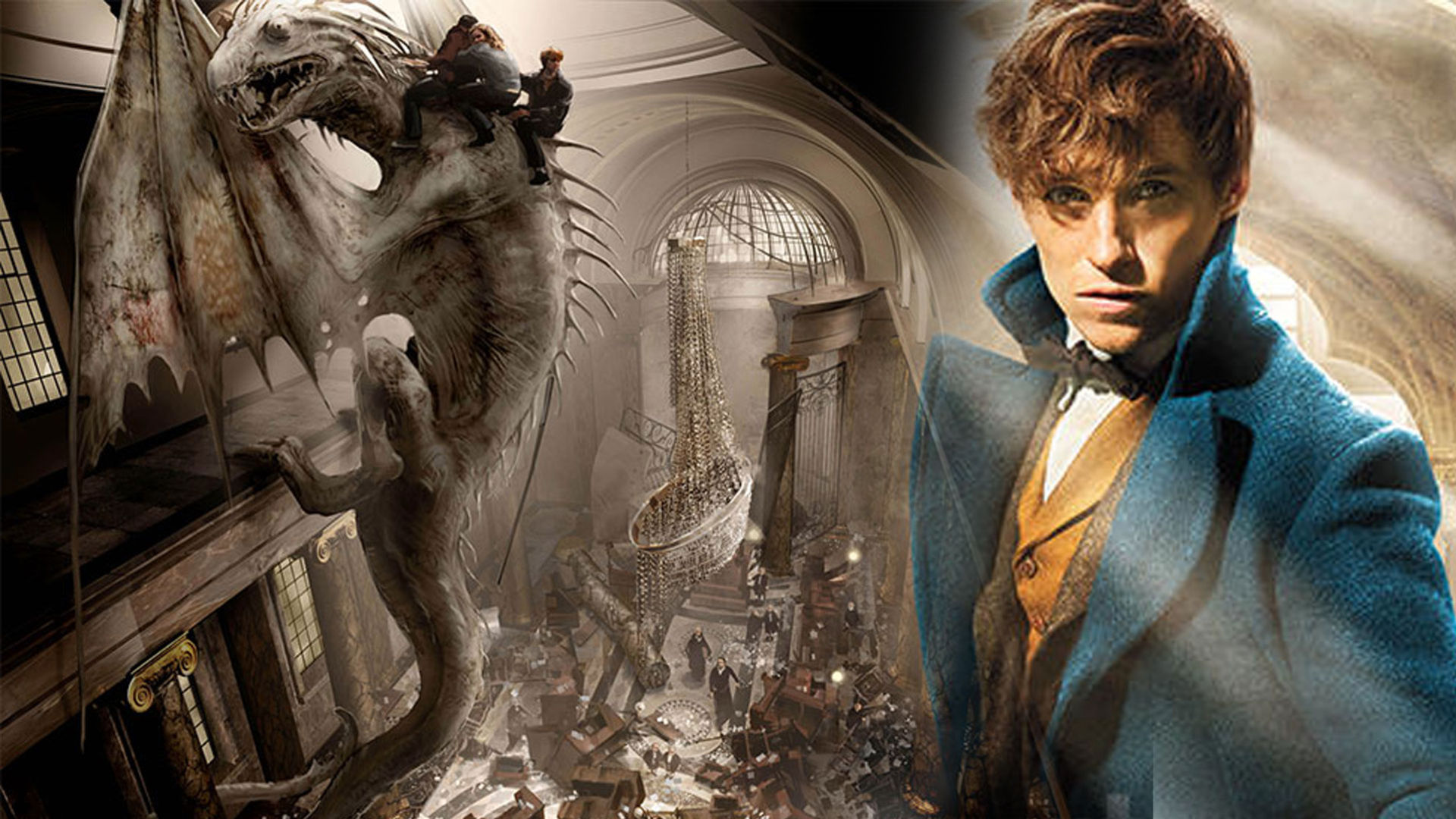 Yeni Harry Potterın Son Filmi Fantastic Beasts And Where To Find Them
