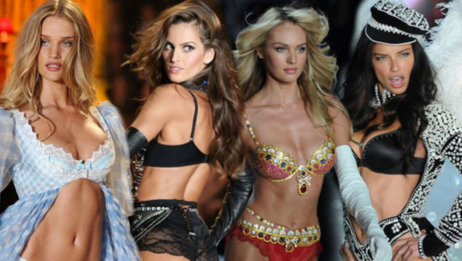 Onlar Victoria Secret meleklerine taş çıkarır
