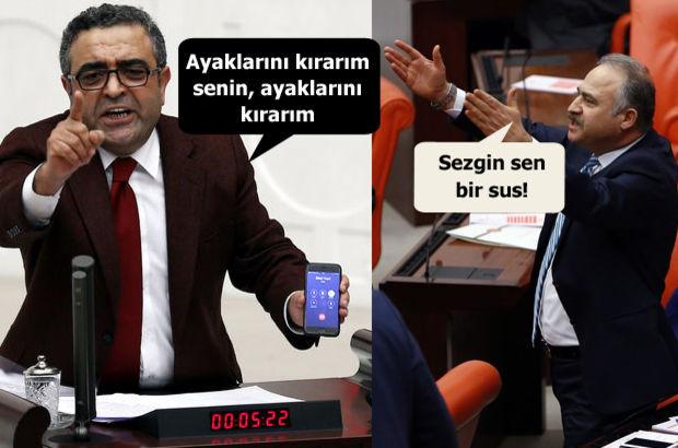 Meclis'te CHP'li ve AKP'li vekiller kavga etti