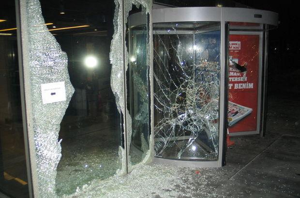 Hürriyet'e saldıranlara dava açıldı