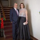 Nihat Tanfer ile eşi Seycan Tanfer'den yılbaşı partisi