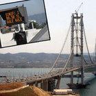 Osman Gazi Köprüsü'nde Ramazan Bayramı için çalışmalar sürüyor