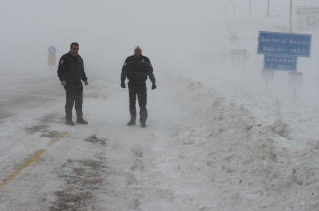 Türkiye genelinde soğuk ve yağışlı hava etkili oluyor 26