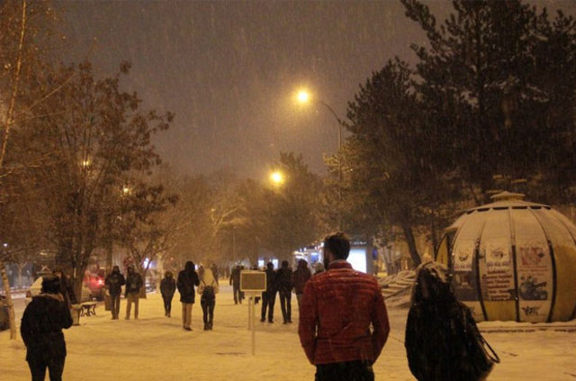 Türkiye genelinde soğuk ve yağışlı hava etkili oluyor 82