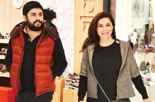Eşinden Ebru Yaşar'a yeni yıl hesiyesi