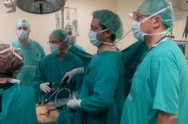 Laparoskopik böbrek nakli Türkiye'de başarıyla yapıldı