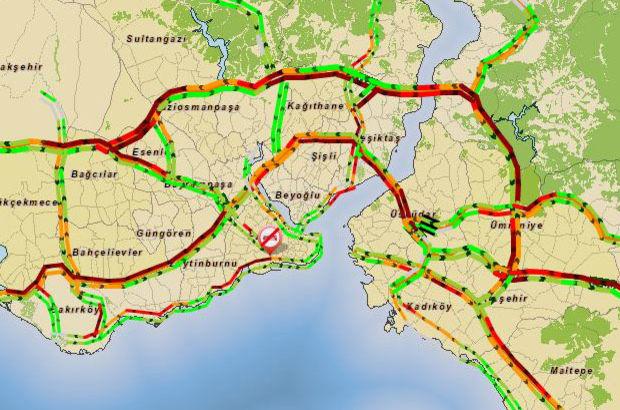 Trafik yoğunluğu artıyor!