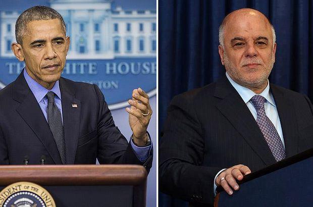 Irak Başbakanı İbadi, Obama ile telefonda görüştü