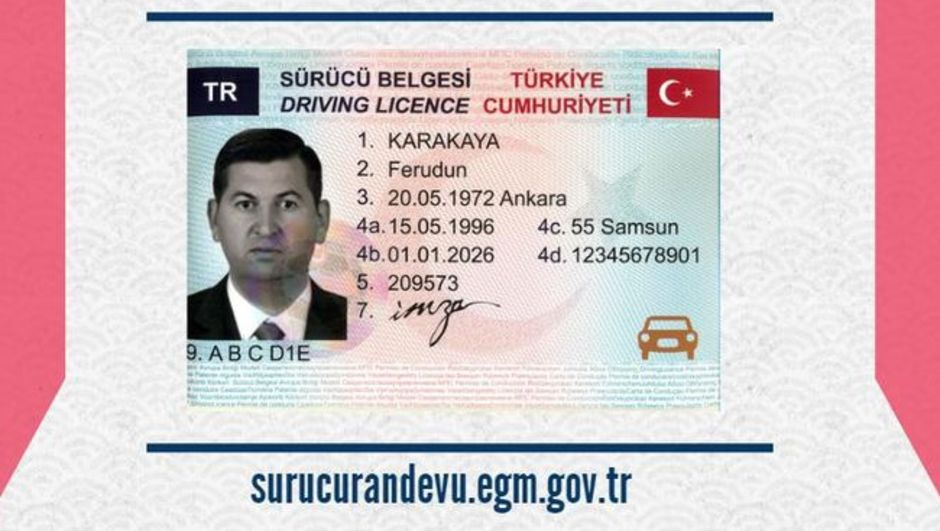 Sürücü belgesini değiştirmek için başvuru nasıl yapılır