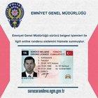 Sürücü Belgesi randevu EGM başvurusu nasıl yapılır?