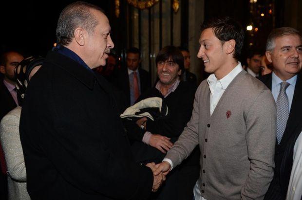 Mesut Özil, Cumhurbaşkanı Erdoğan