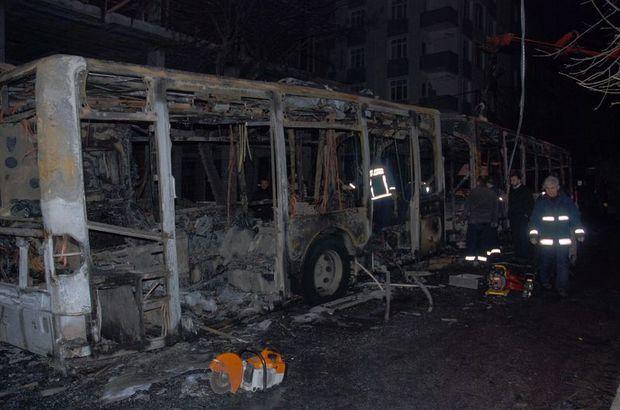 İstanbul'da belediye otobüsüne molotoflu saldırı