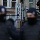 HDP Beyoğlu ilçe binasında arama
