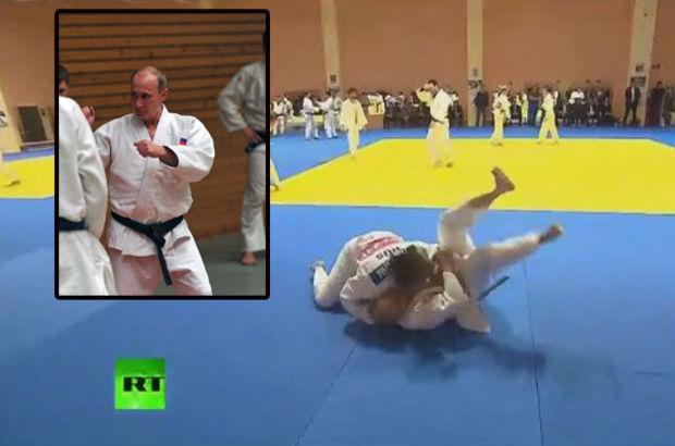 Judo Antrenörü Kadın, Vlademir Putini Yere Serdi