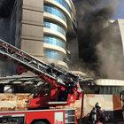Maltepe'de otelde yangın