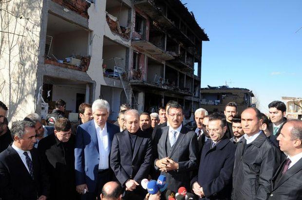 Bülent Tüfenkçi ve Mehdi Eker'den Çınar'a ziyaret