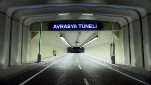 Avrasya Tüp Tüneli için sayılı günler kaldı