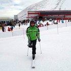 Ampute kayakçının hedefi olimpiyatlar