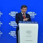 Başbakan Davutoğlu Dünya Ekonomik Forumu'nda konuştu