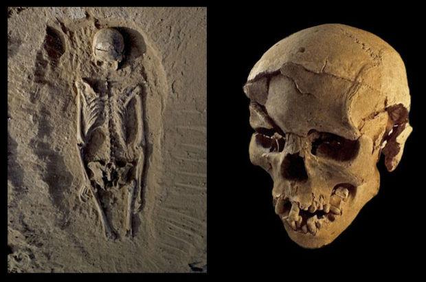 en eski savaşın kalıntıları