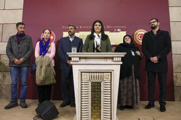 Öcalan, Meclis'te dayısıyla basın toplantısı yaptı