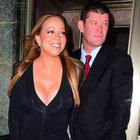 Mariah Carey'nin tektaşı olay oldu