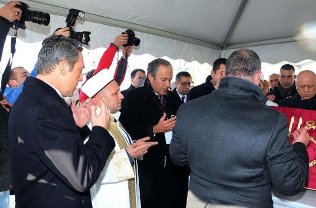Mustafa Koç'un cenaze töreni