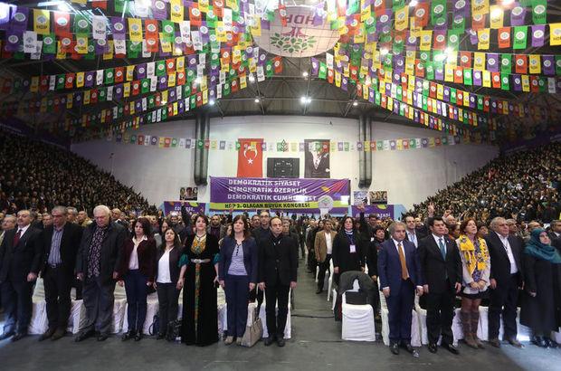 HDP'de eşbaşkanlar yine seçildi PM'de ise 74 isim liste dışı kaldı