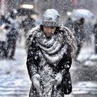 Başkent Ankara'da hava sıcaklığı -22 derece