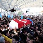 MHP'li Küçük'ün cenazesi toprağa verildi
