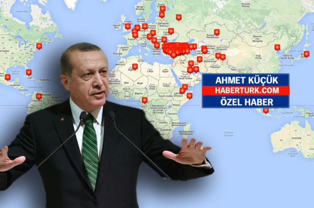 Cumhurbaşkanı 4 kıtada, 34 ülkede