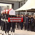 İSTANBUL'DA ŞEHİT OLAN POLİS İÇİN TÖREN! ATANAMAYAN ÖĞRETMENDİ...