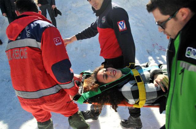 Ayder yaralanma şenliği!