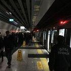 Marmaray istasyonunda sızıntı