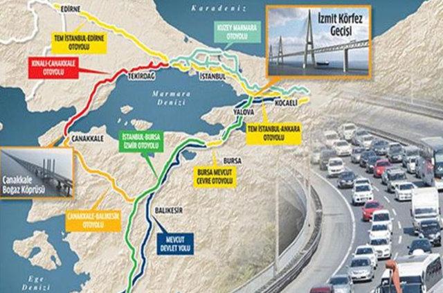 Çanakkale Köprüsü Projesi ile ilgili görsel sonucu