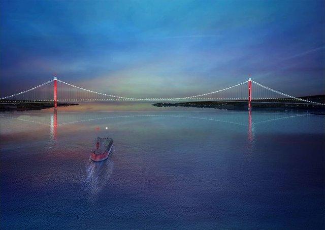 1915 Çanakkale Köprüsü için yarın temel atma töreni düzenlenecek