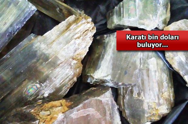 Muğlada 5 Kg Zultanit Kristali Ele Geçirildi Son Dakika Haberler