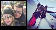 Courchevel'de kayak zamanı
