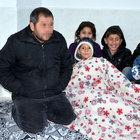 Sur'daki terör mağduru aileye yardım eli
