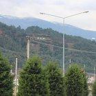 Manisa'da dağa 'PKK' yazısına iki gözaltı