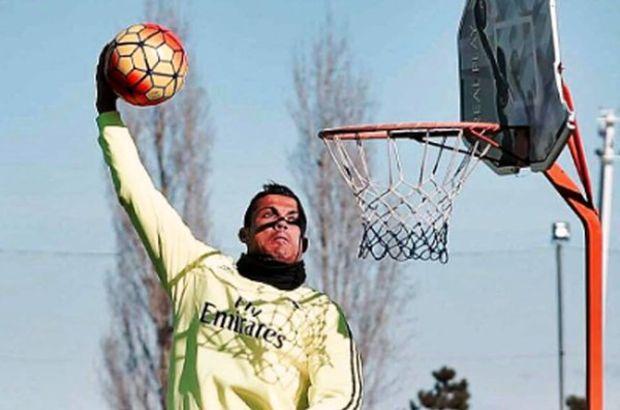 Cristiano Ronaldo basketbol