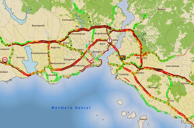 İstanbul'da trafik