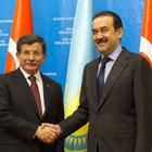 Başbakan Davutoğlu, Kazakistan'da