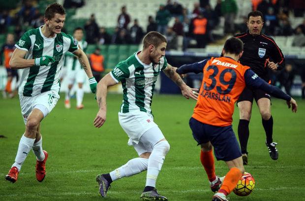 Bursaspor: 3 - Medipol Başakşehir: 3