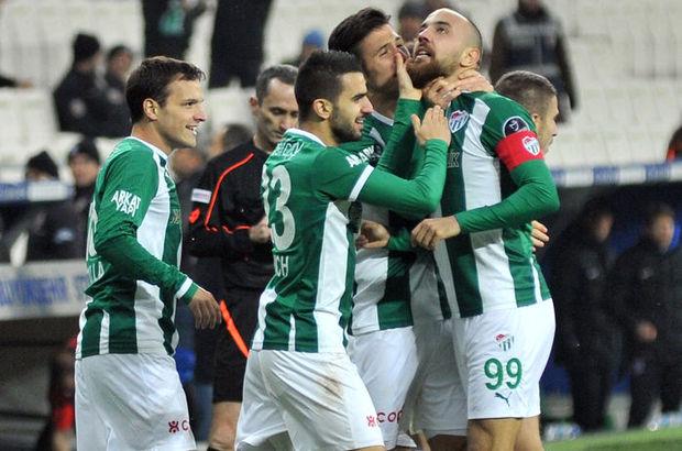 Sercan Yıldırım kırmızı kart Bursaspor