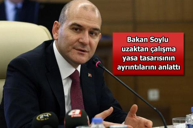 Çalışma Bakanı Süleyman Soylu