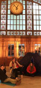 Haydarpaşa Garı'nda restorasyon öncesi son gece