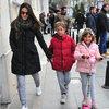Çocuklarla cadde turu