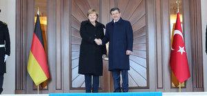 Angela Merkel Ankara'da